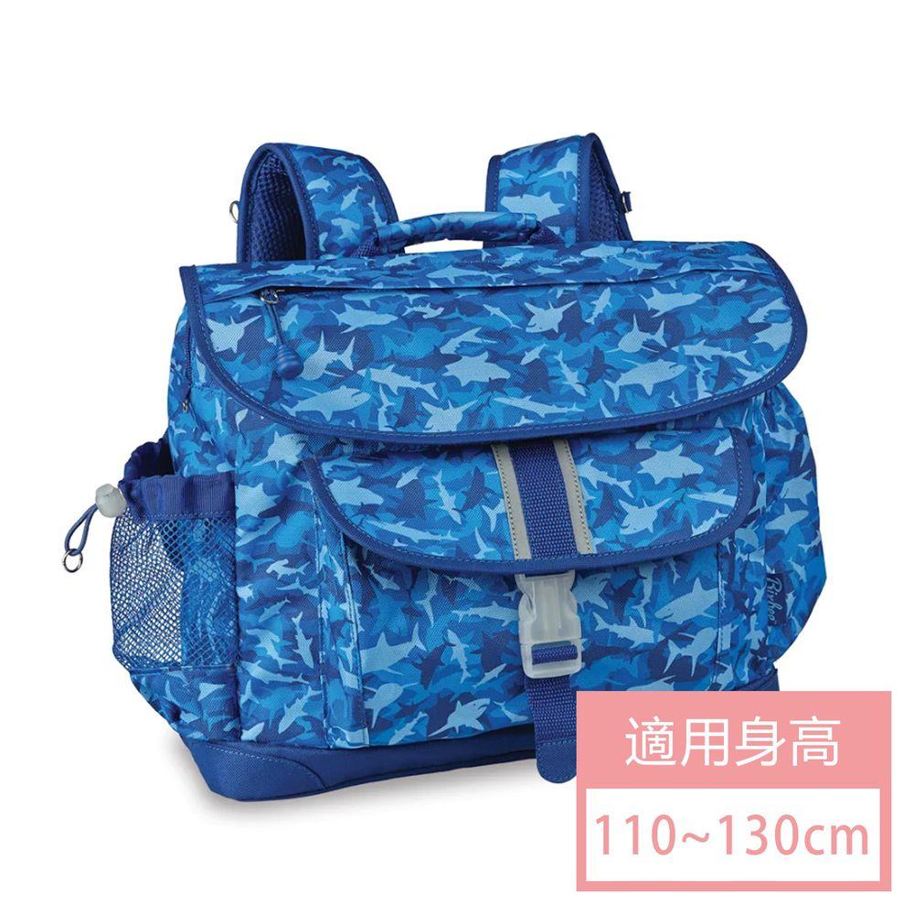 Bixbee - Shark Camo 彩印系列-藍海群鯊中童輕量舒壓背/書包 (33*28*12.7cm)