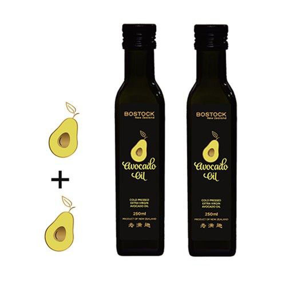 壽滿趣-紐西蘭BOSTOCK - 頂級優惠兩件組-頂級冷壓初榨蒜香風味酪梨油*2-250ml*2