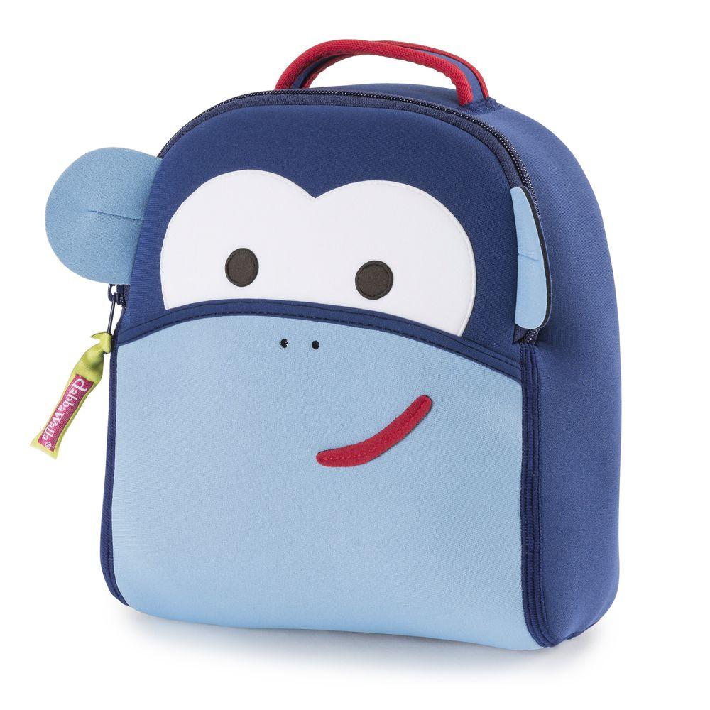 美國 Dabbawalla - 瓦拉包-藍色小猴防走失後背包