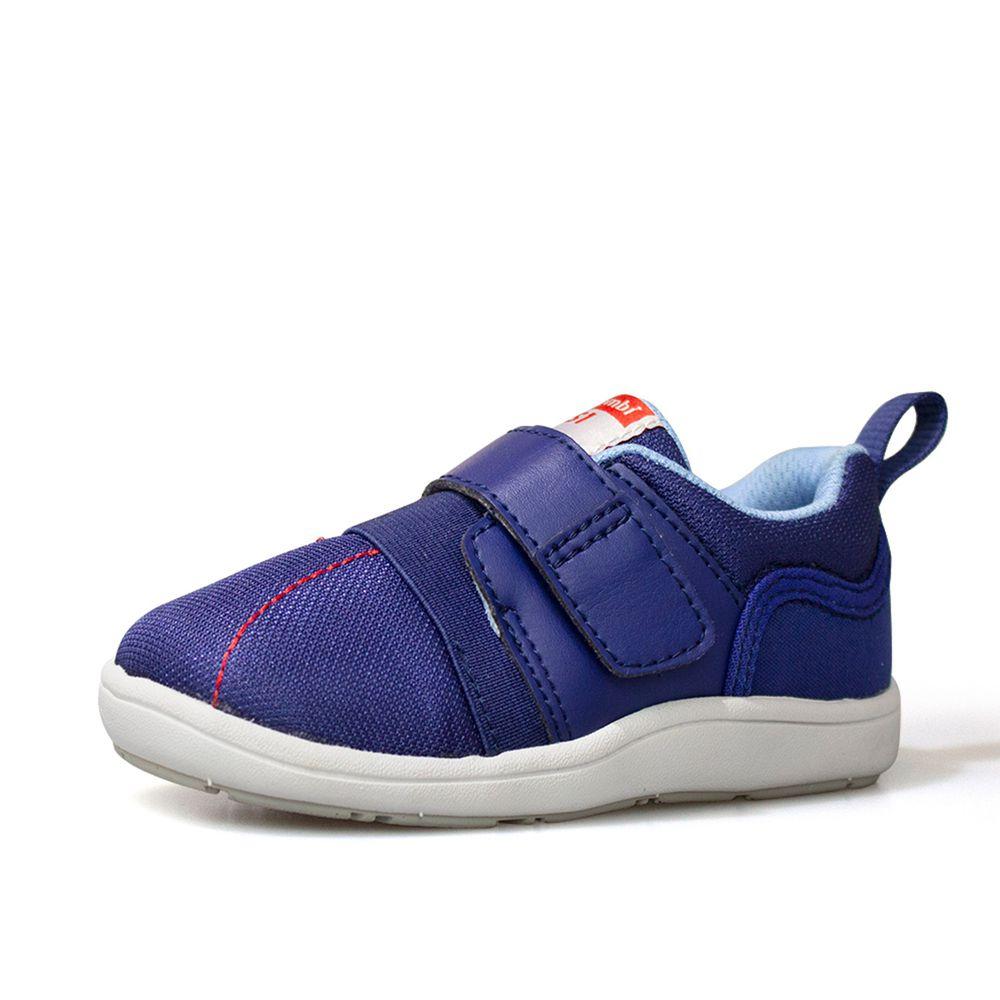 日本 Combi - 機能童鞋/學步鞋-NICEWALK 醫學級成長機能鞋-藍-A01