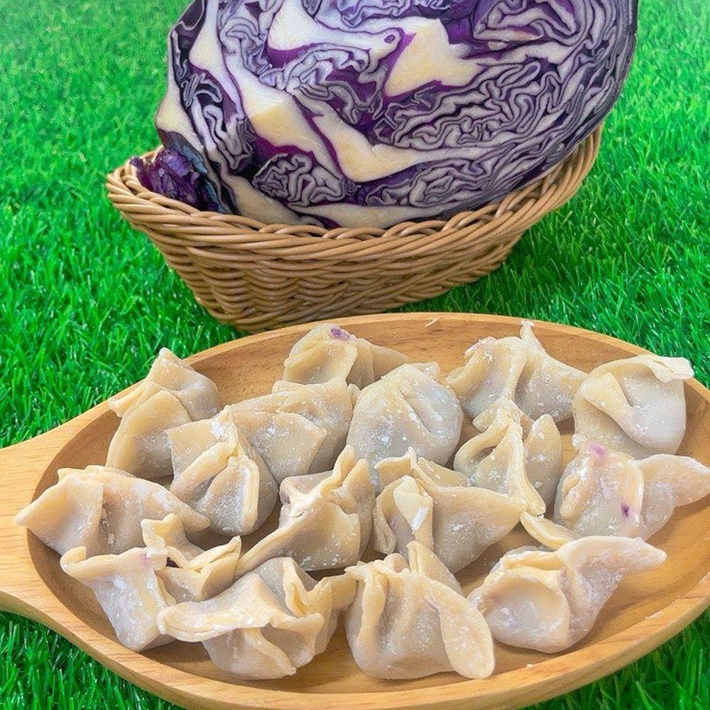 喬媽灶咖 - 紫高麗菜水餃-20顆-220克