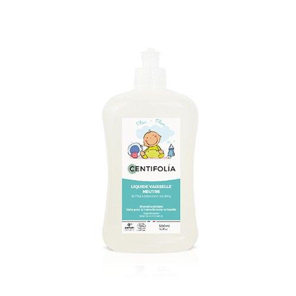 法國貝貝 - 嬰兒系列-奶瓶碗盤洗潔劑(無香精)-500ml