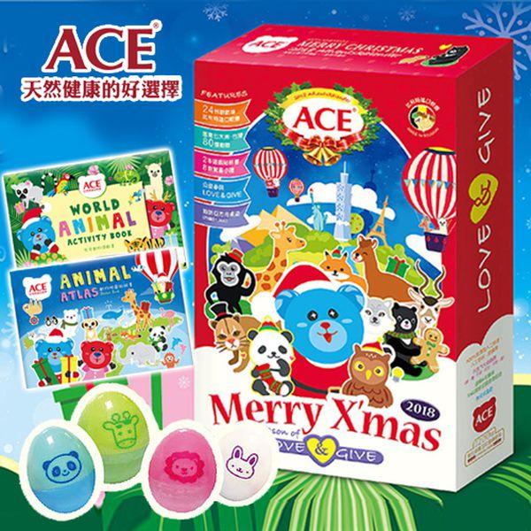聖誕禮盒加入!天然安心的寶貝點心❤【ACE 軟糖、果乾】
