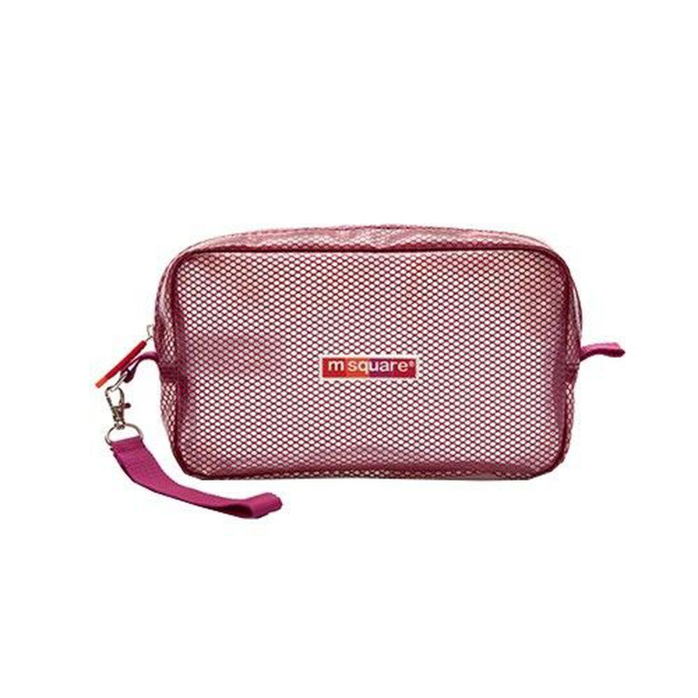 m square - 商旅系列Ⅱ-防水毛巾包-紫紅