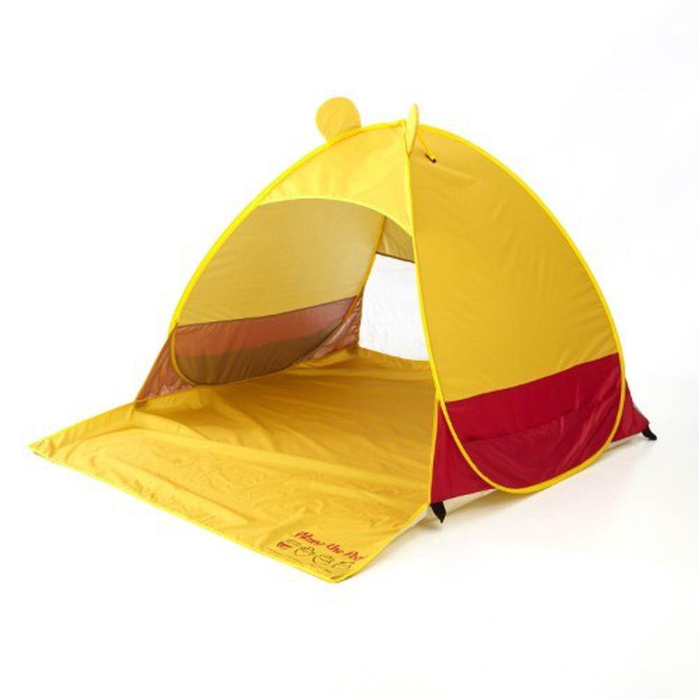 日本千趣會 - 迪士尼抗UV立體造型折疊式帳篷-紅黃維尼 (148x165x110cm)