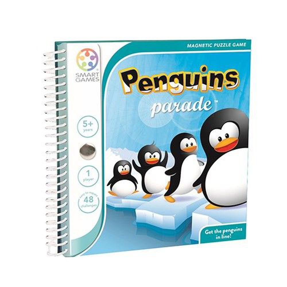 上誼文化 - 【比利時SMART GAMES】魔磁隨身遊戲-企鵝大遊行-5歲以上