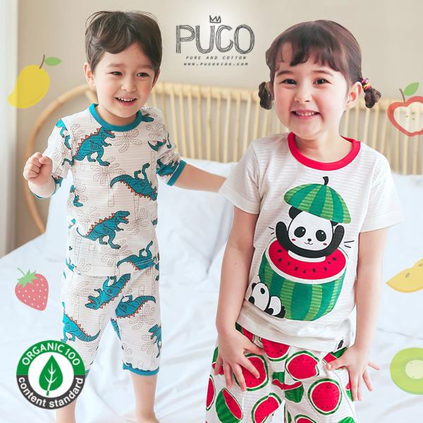 韓國100%有機棉、無螢光棉家居服 / 套裝