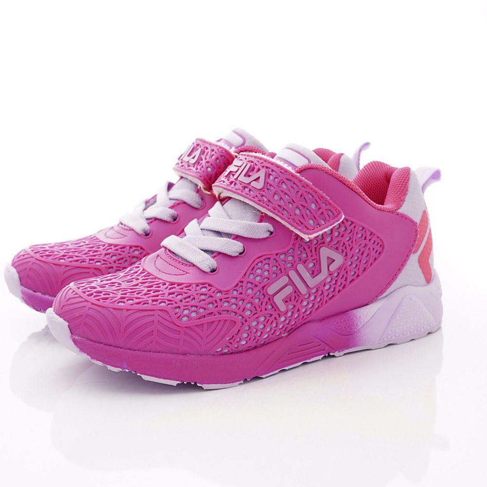 FILA - 義式雙層運動鞋款(中大童段)-桃