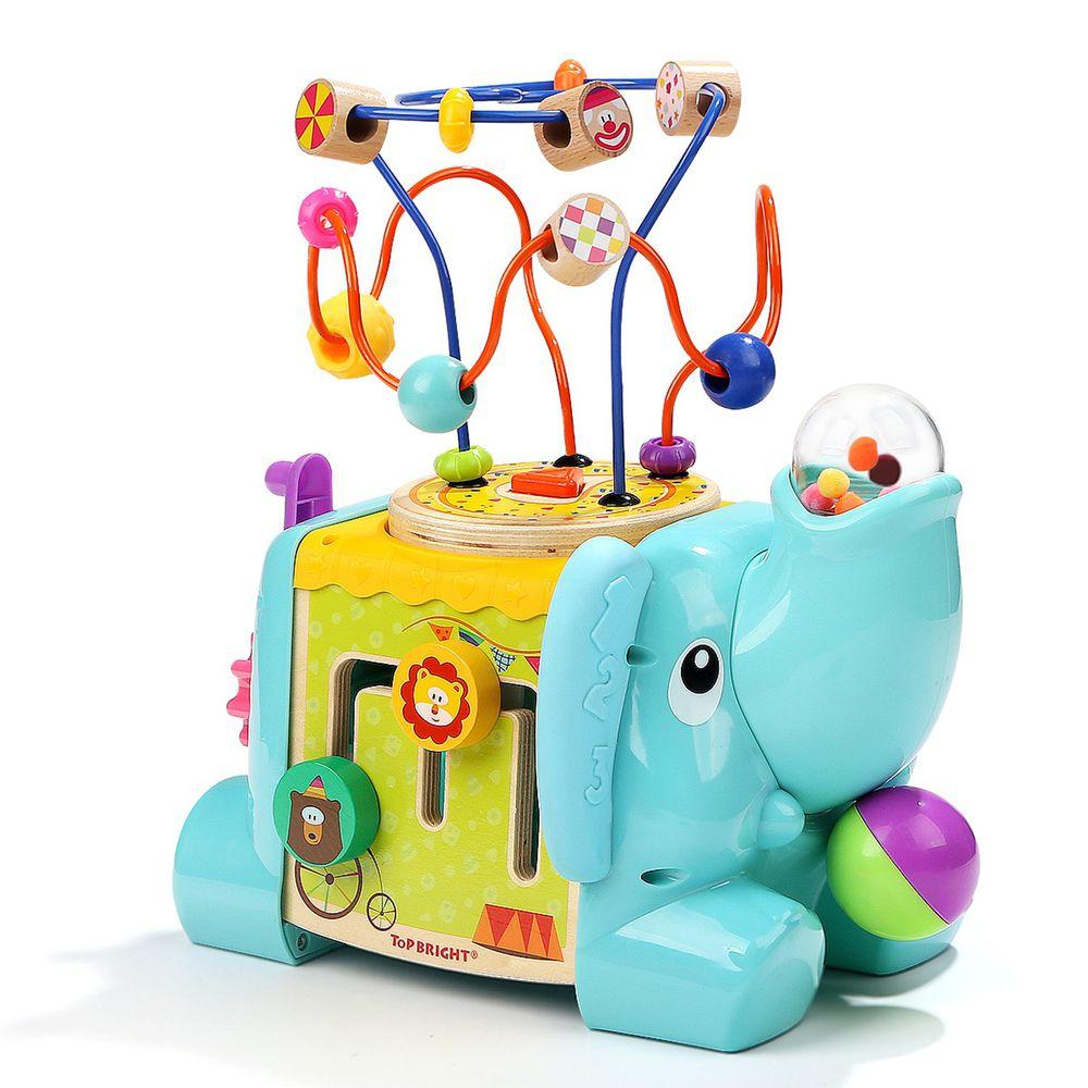 TOP BRIGHT特寶兒 - 大象馬戲團繞珠