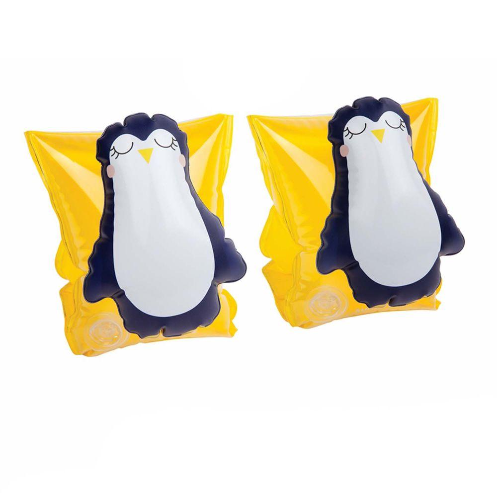 澳洲Sunnylife - 兒童游泳臂圈-企鵝-16 x 22 x 18 公分