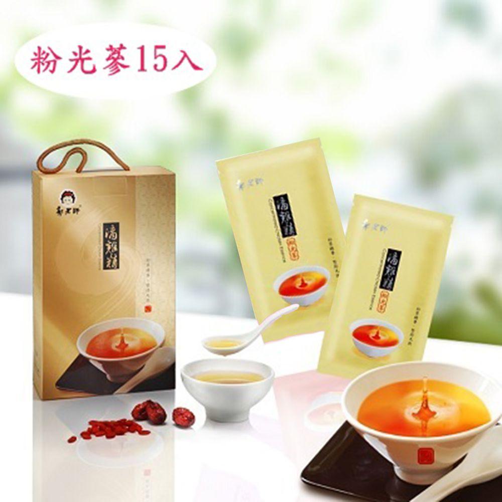 郭老師養生料理 - 含運組-(冷凍)粉光蔘滴雞精(大盒/15入)-80cc/包