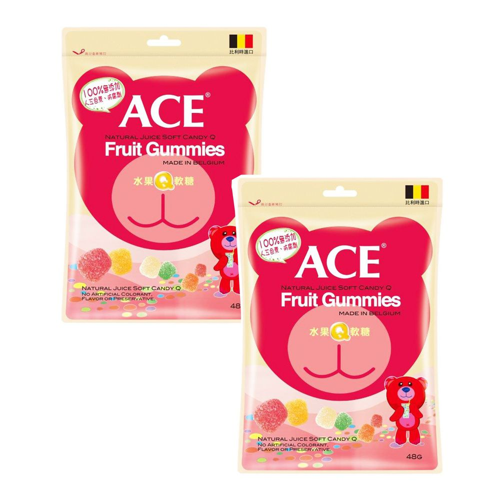 ACE - 水果Q軟糖*2-48g/袋