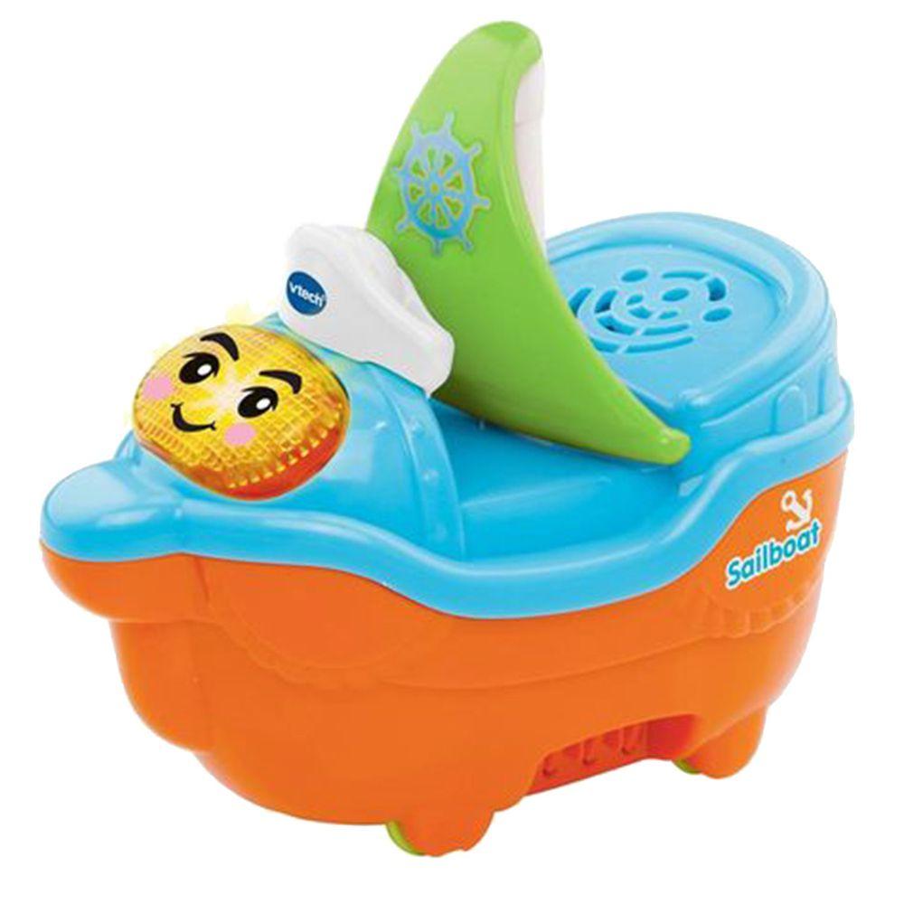 Vtech - 2合1嘟嘟戲水洗澡玩具系列-微笑帆船
