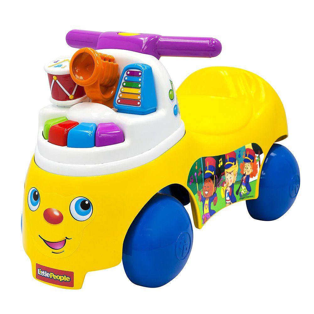 美國Fisher-Price 費雪 - 費雪牌little people 歡樂音樂家騎乘玩具