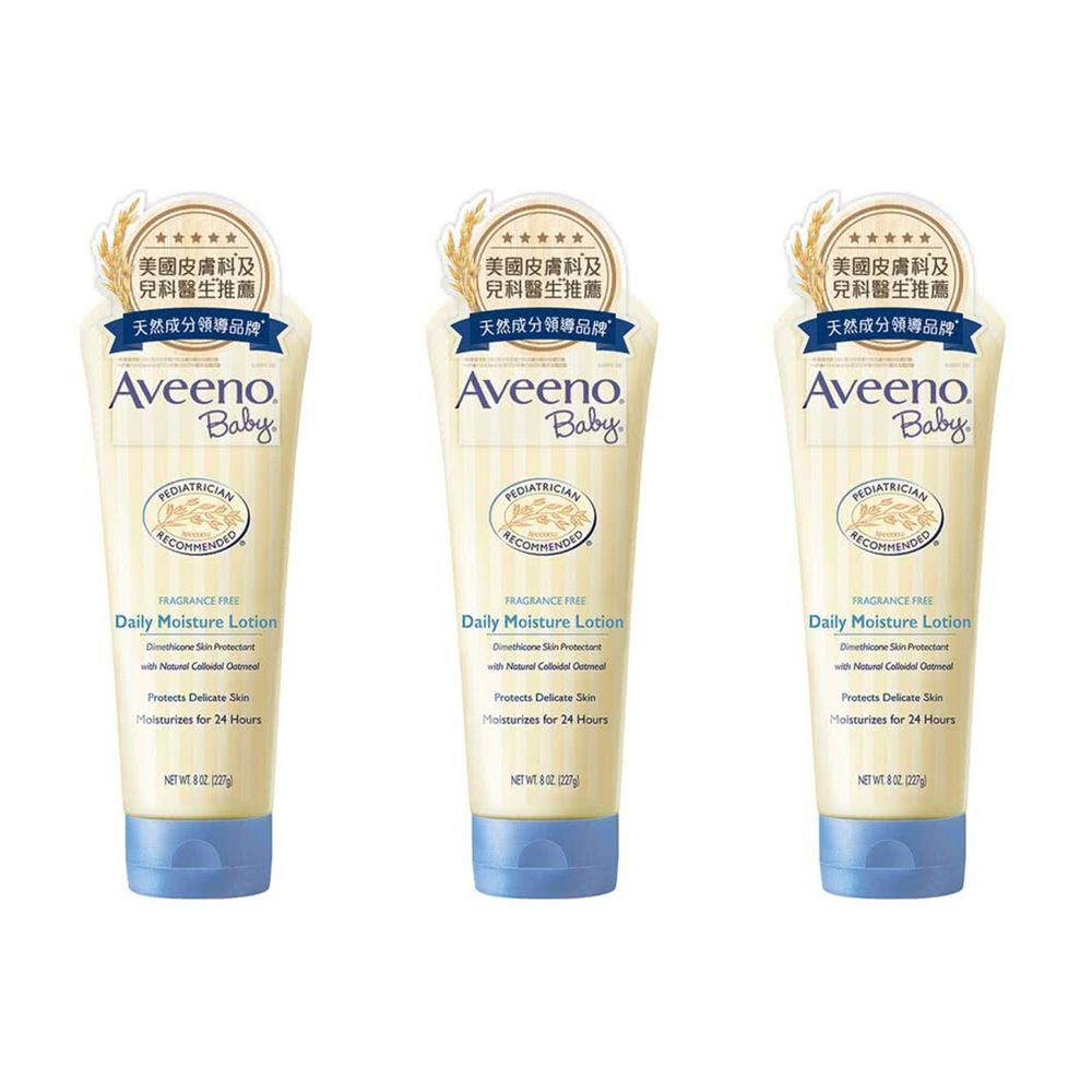 Aveeno 艾惟諾 - 嬰兒燕麥保濕乳-3入組-227g