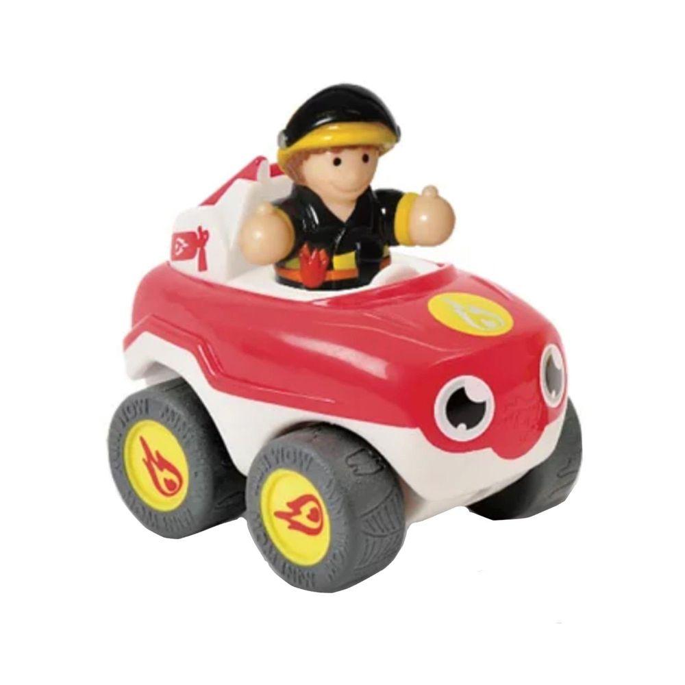 英國驚奇玩具 WOW Toys - 驚奇隨身迷你車-火焰-消防車