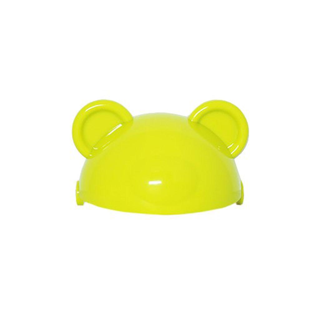 韓國 Pomier 朴蜜兒 - 韓製 HAPPYLAND Tritan 防脹氣十字孔自動果汁杯-頭蓋片配件-綠色