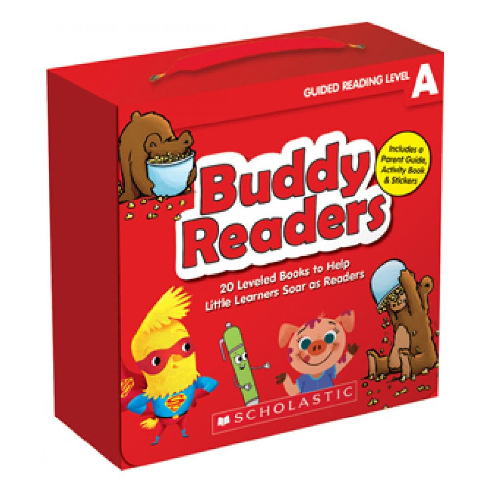 Buddy Readers: Level A 20書+CD