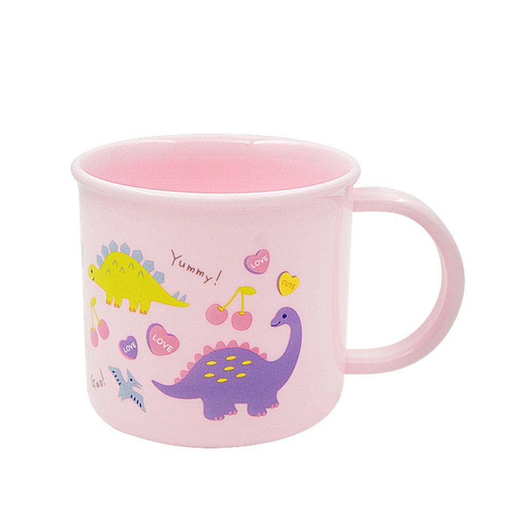 日本 SKATER - 銀離子小牛奶杯-粉粉龍
