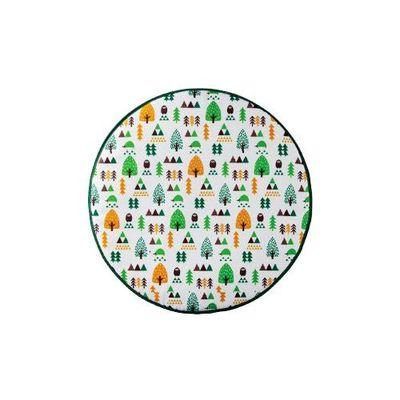 MAYPOLE方向盤防曬隔熱罩-綠色森林