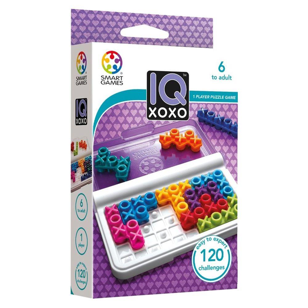 上誼文化 - 【比利時SMART GAMES】IQ XO排列大挑戰-6歲以上