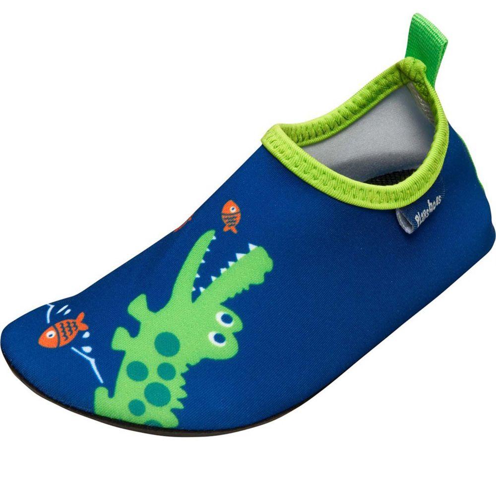 德國Playshoes - 抗UV水陸兩用沙灘懶人童鞋-鱷魚
