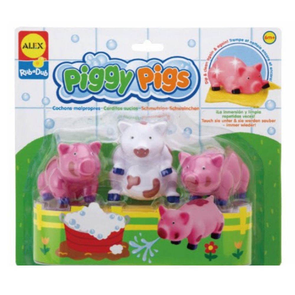 美國 ALEX - 愛洗澡的豬