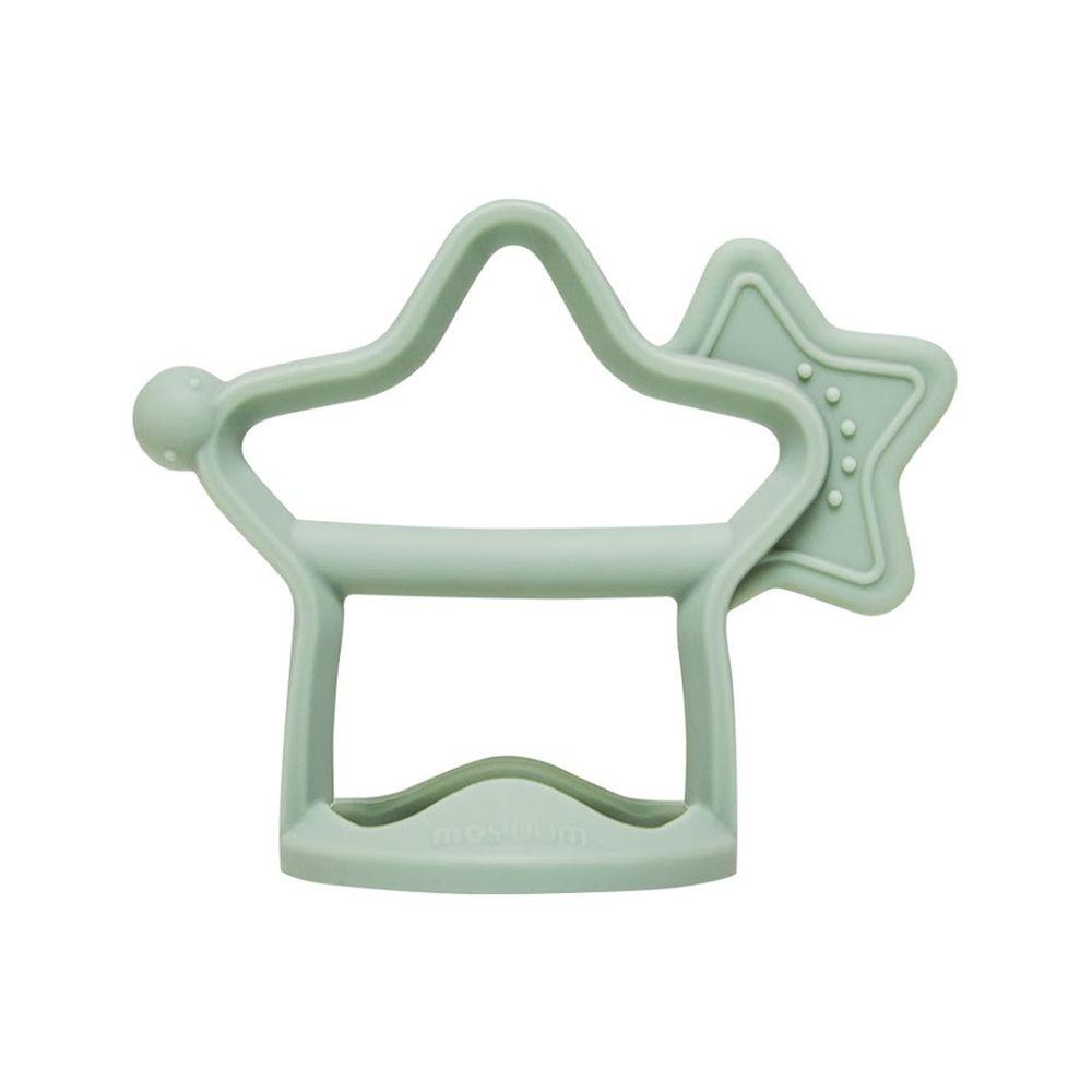 韓國 Moyuum - 白金矽膠手環固齒器-小星星-薄荷綠