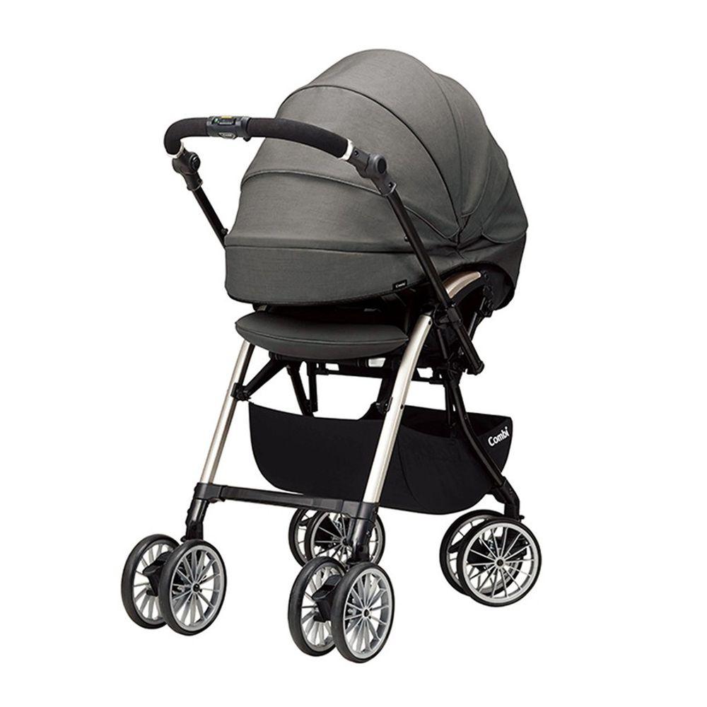 日本 Combi - Umbretta -Puro嬰兒手推車-月岩灰-1個月~36個月(體重15kg以下)