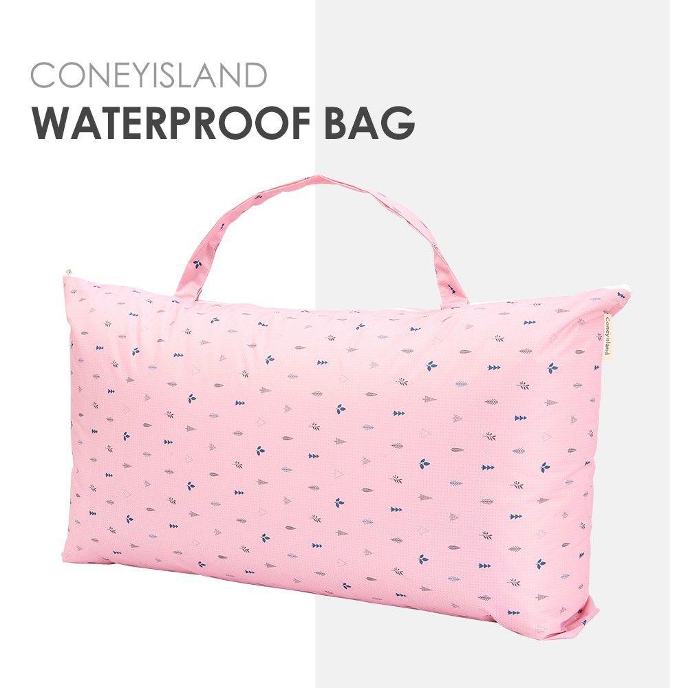 韓國 Coney Island - 加大版防水睡袋收納袋-粉紅森林 (81.5*42.5*15cm)