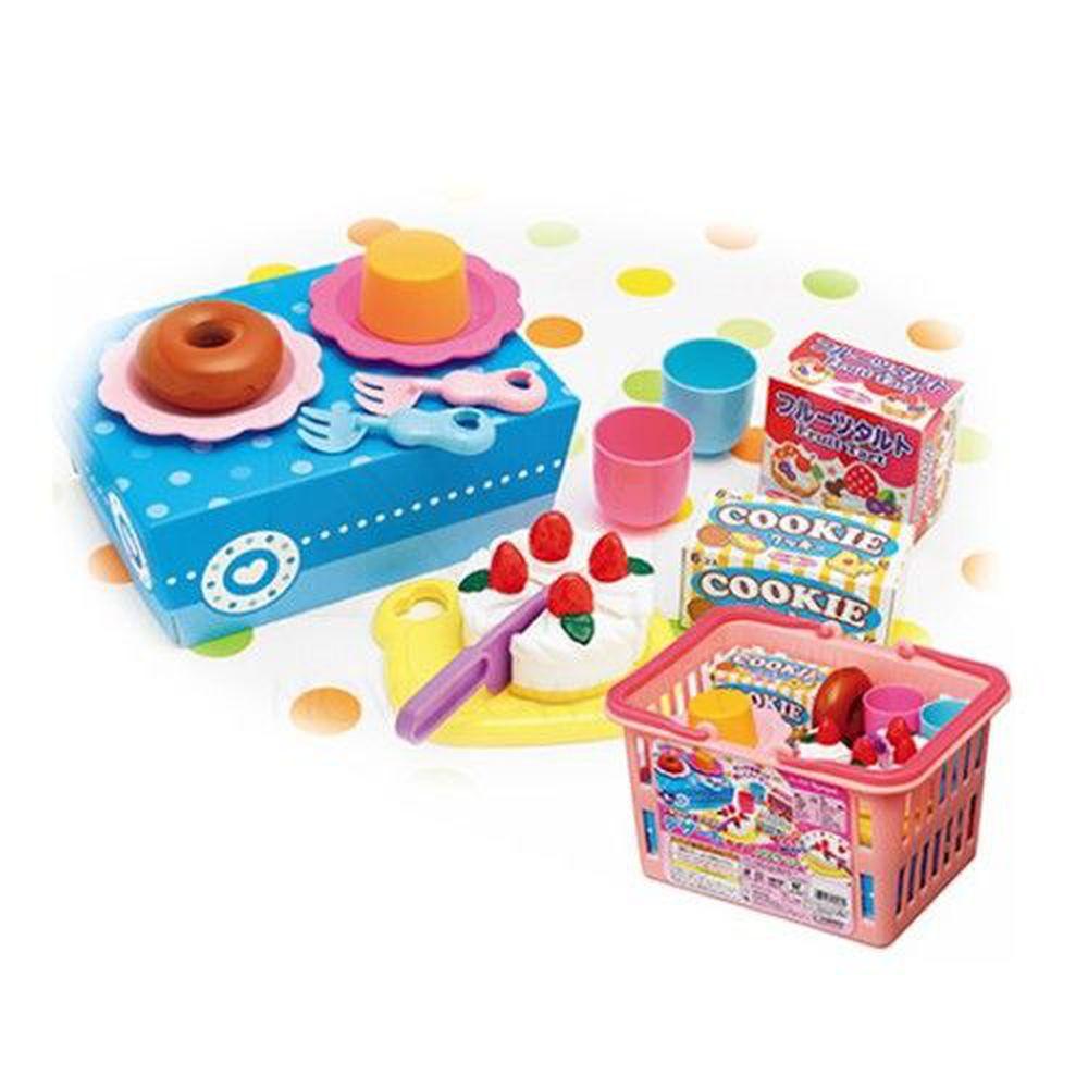 日本 Toyroyal 樂雅 - 購物籃切切樂-甜點組