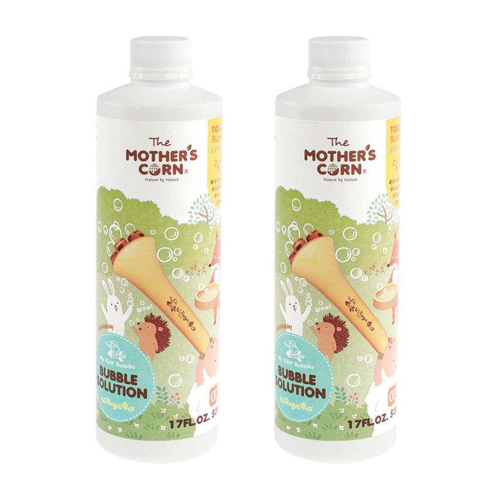 韓國 Mother's Corn - 兒童專用不易破泡泡補充罐(500ml)*2入