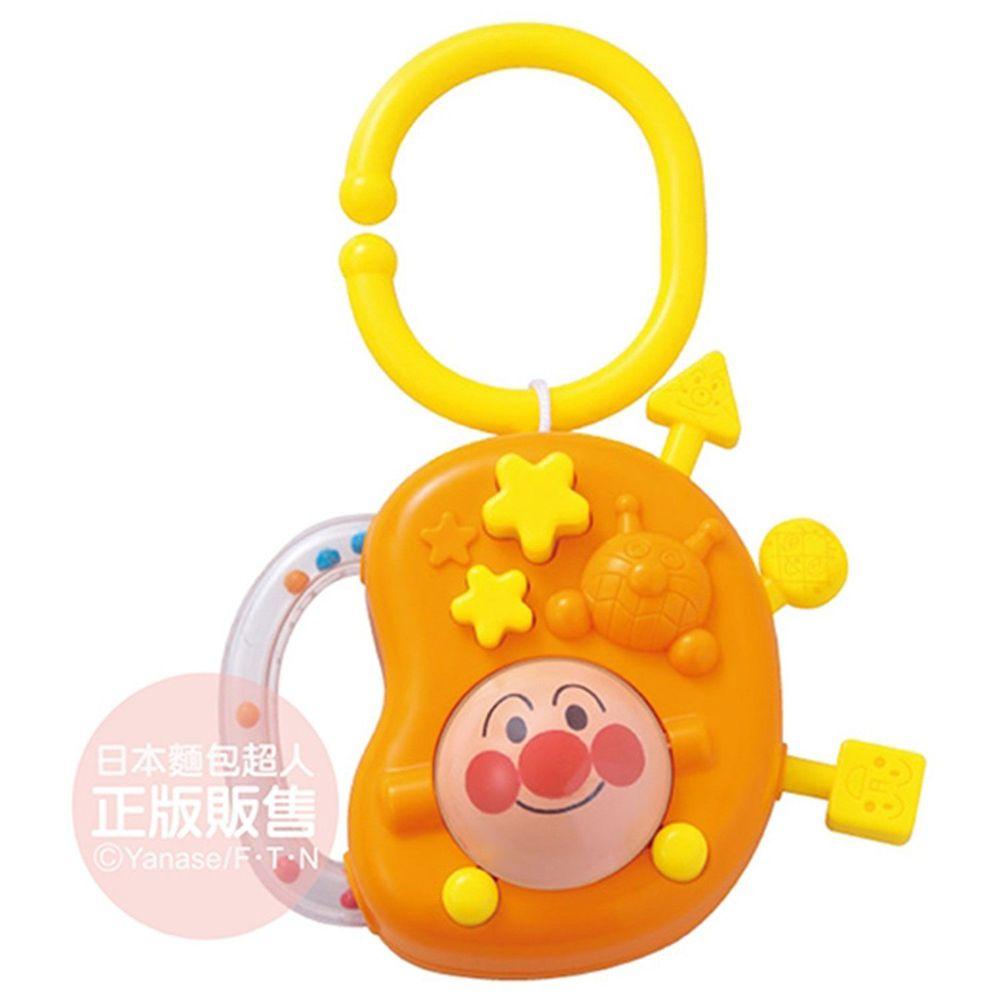 麵包超人 - 喀哩喀哩嬰兒手指發育玩具-8個月