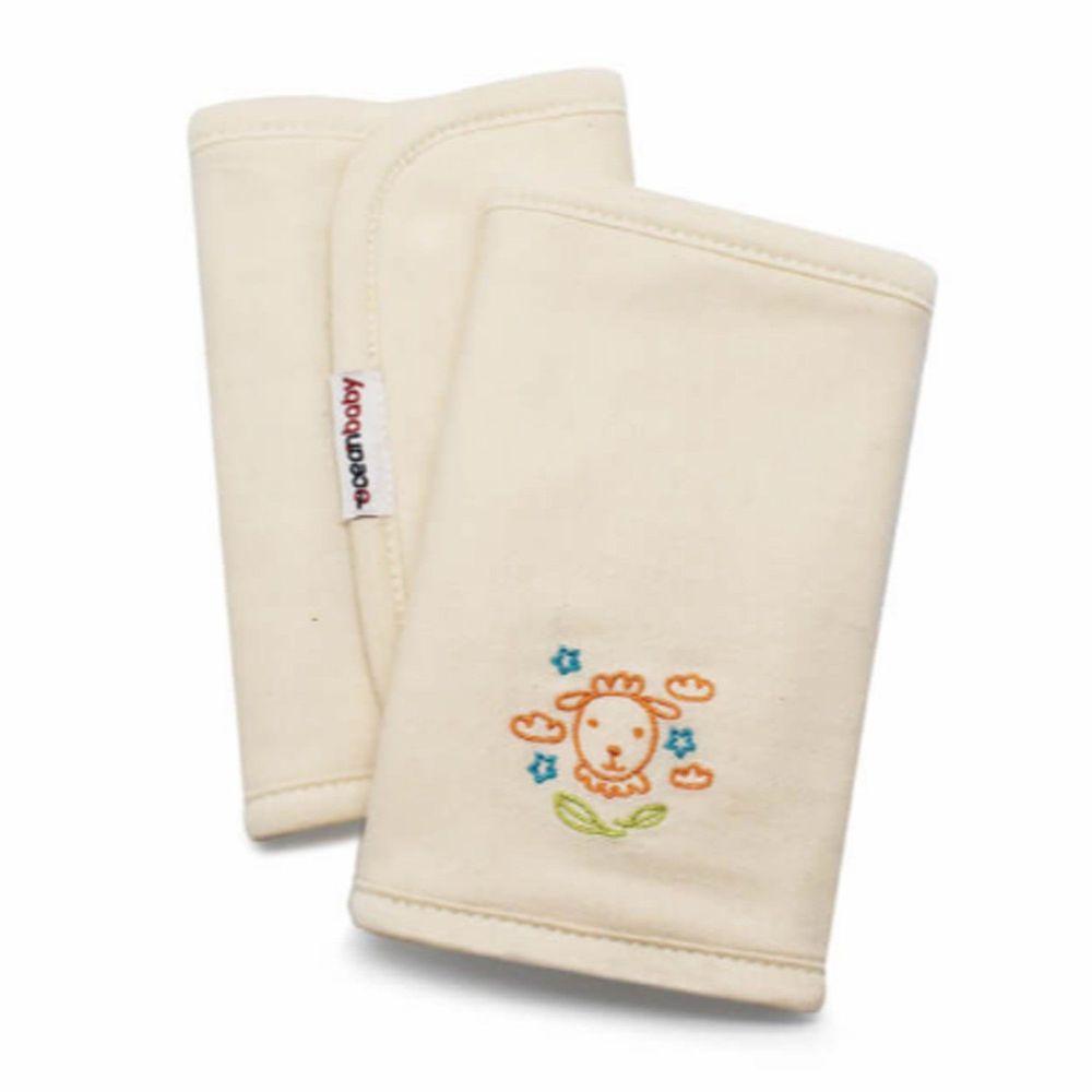 Ocean baby - 100% 臺灣本土有機埃及棉背巾口水巾-好好睡小綿羊