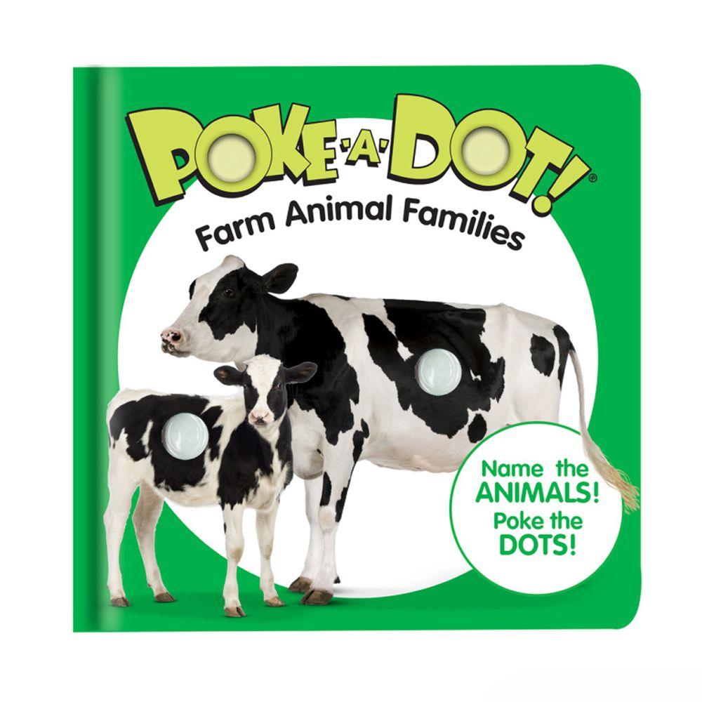 美國瑪莉莎 Melissa & Doug - 神奇泡泡隨身書-認識農場動物