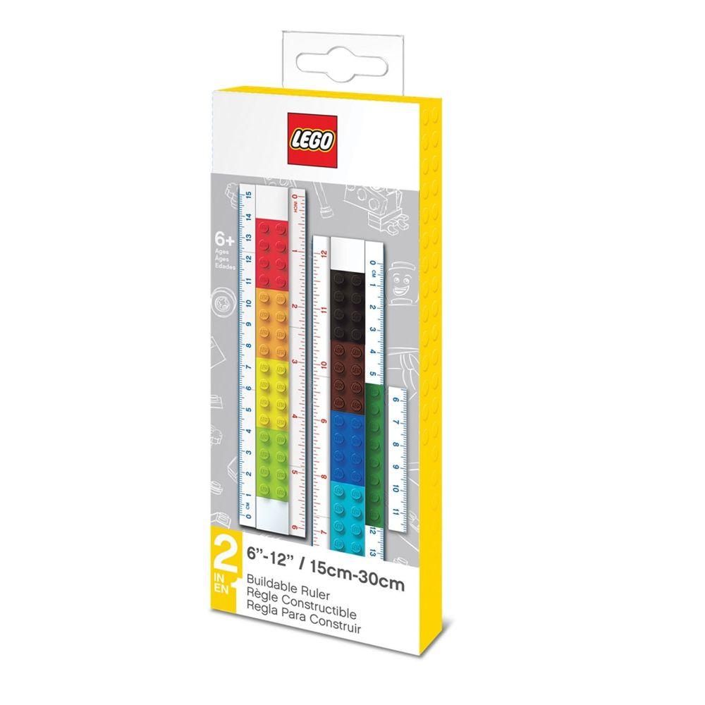 樂高 LEGO - LEGO創意組裝文具尺(15-30公分)