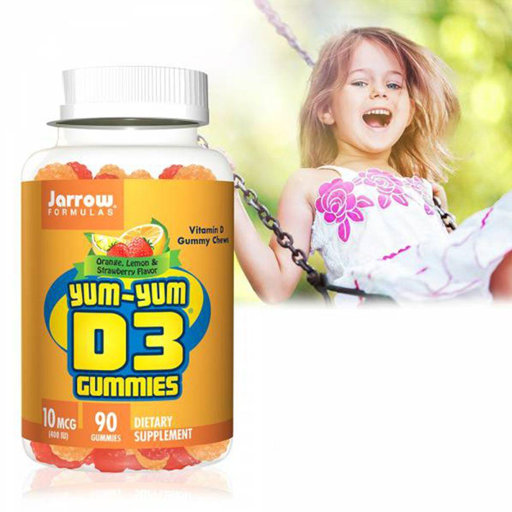 美國Jarroow賈羅公式 - 活力陽光D3軟糖-90粒