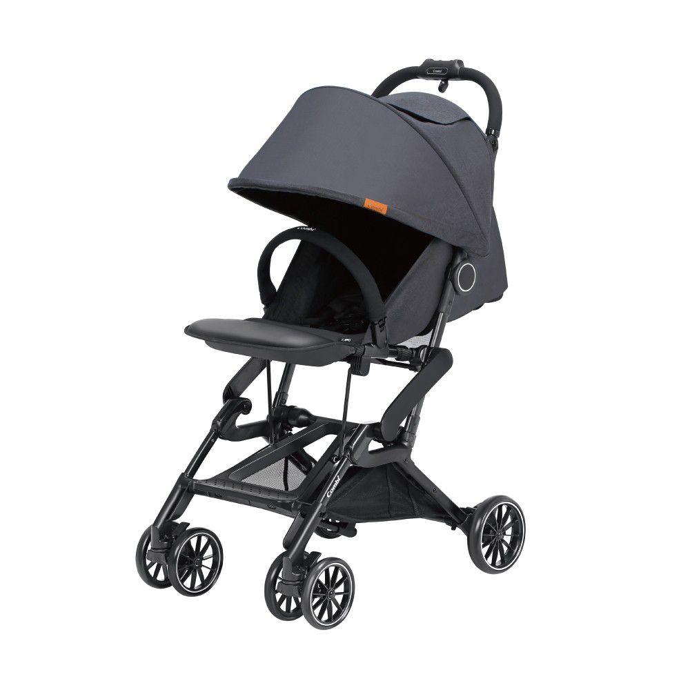 日本 Combi - 捷旅 CFS  嬰兒手推車-遼闊黑-1個月~36個月(體重15kg以下)