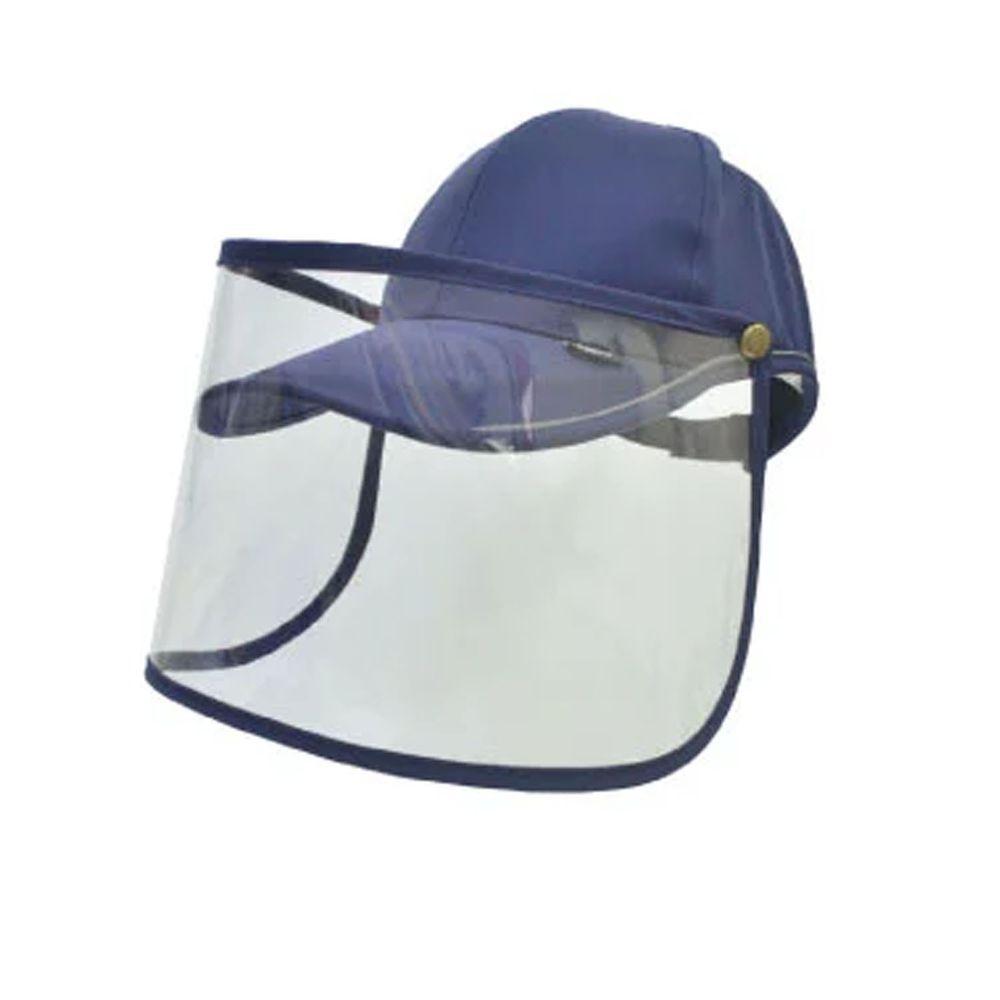 貝柔 Peilou - UPF50+多功能防疫遮陽鴨舌帽-丈青 (頭圍: 59cm)