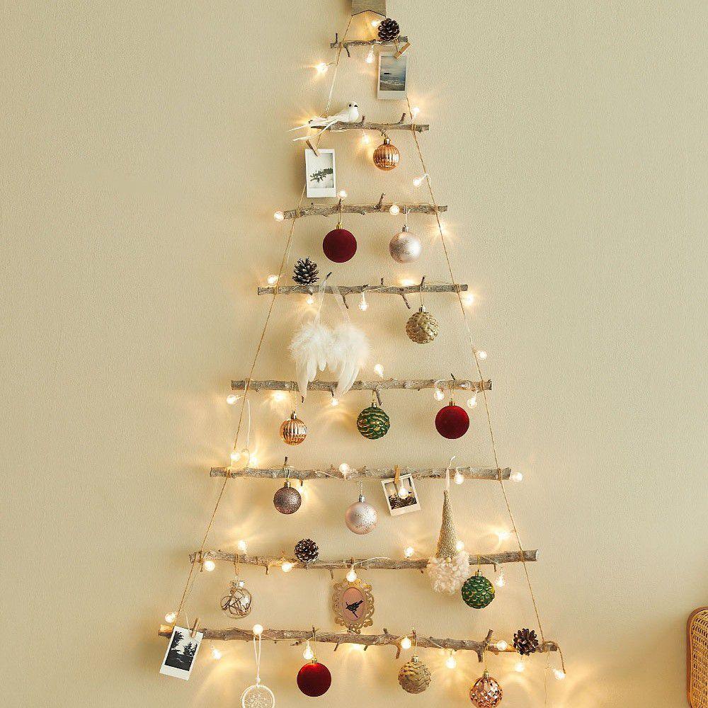 韓國 - 聖誕樹/聖誕壁飾燈-魔鏡傳說 (樹高105cm,樹寬71cm)