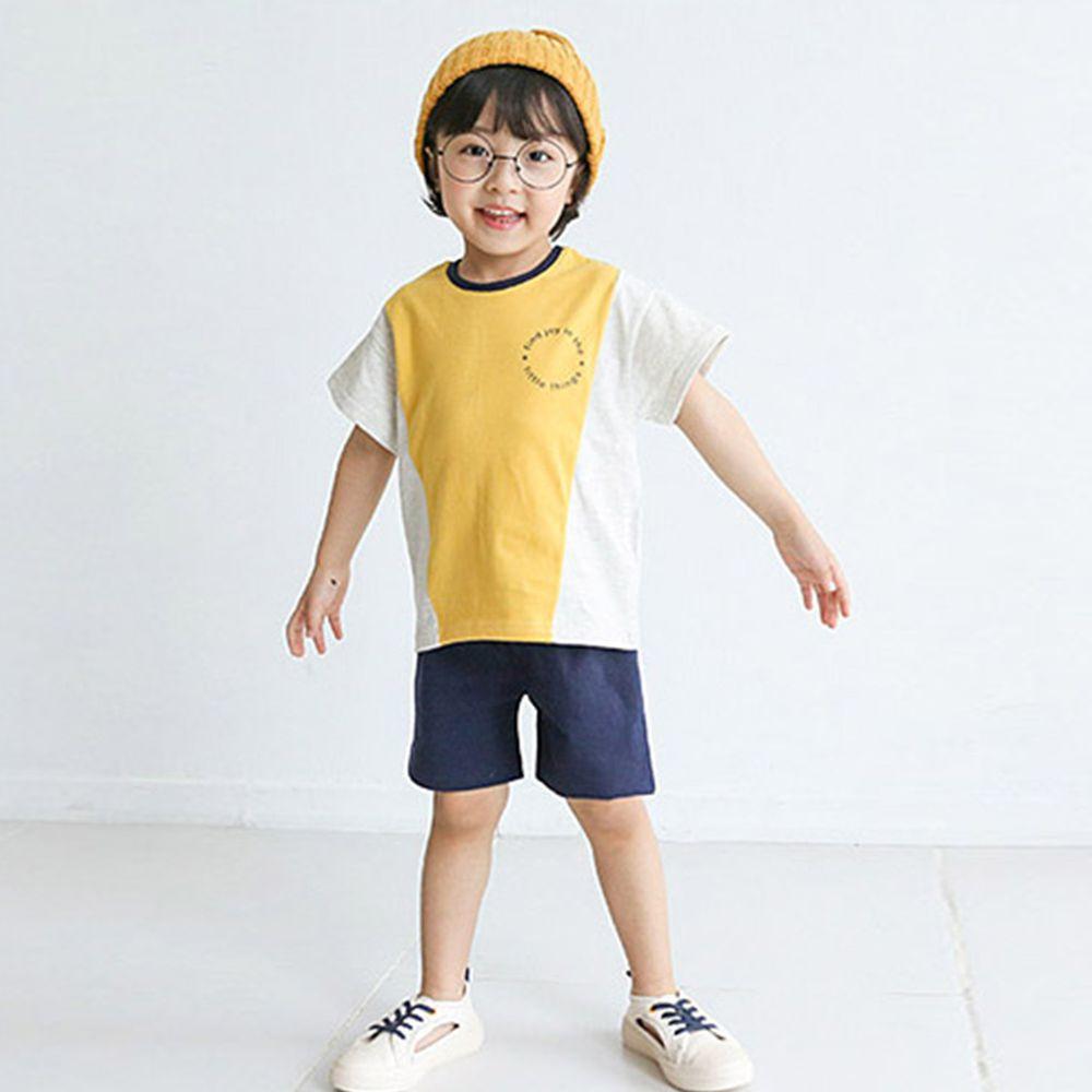 韓國 Rainbowkids - 純棉套裝-Yellow