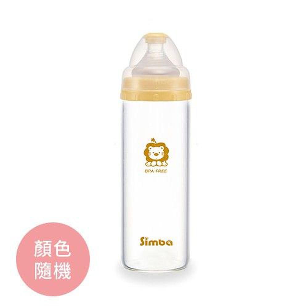 Simba 小獅王辛巴 - 超輕鑽寬口直圓玻璃大奶瓶-260ml/支