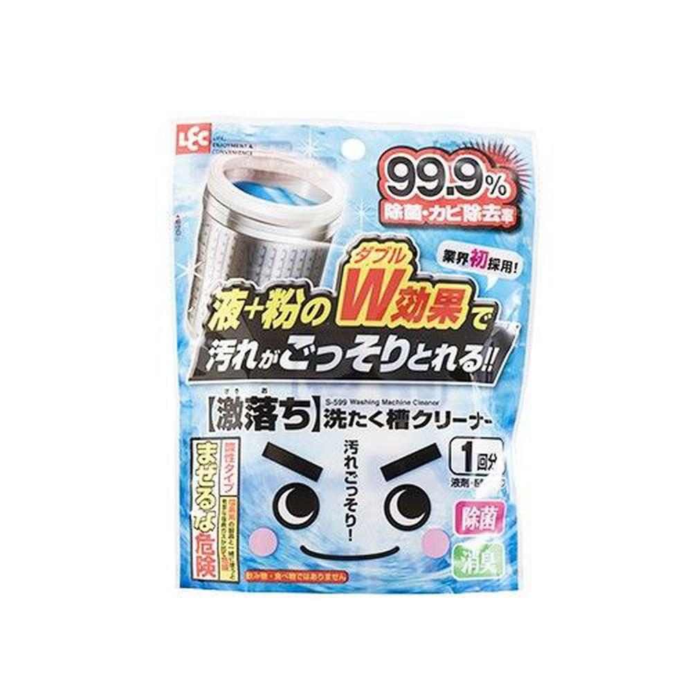 日本 LEC - 激落洗衣槽專用雙效清潔劑 (液劑+粉劑)-(70g*2)/包