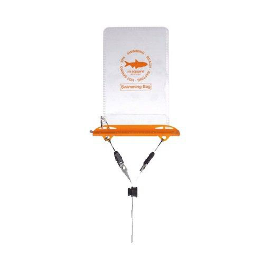 m square - 防水手機袋-橘色