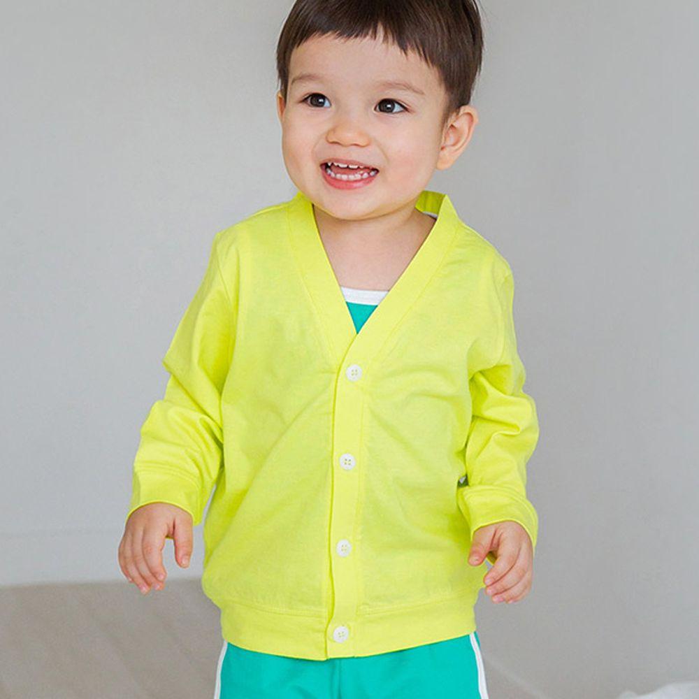 韓國 Cordi-i - 輕薄防蚊防曬外套-黃綠