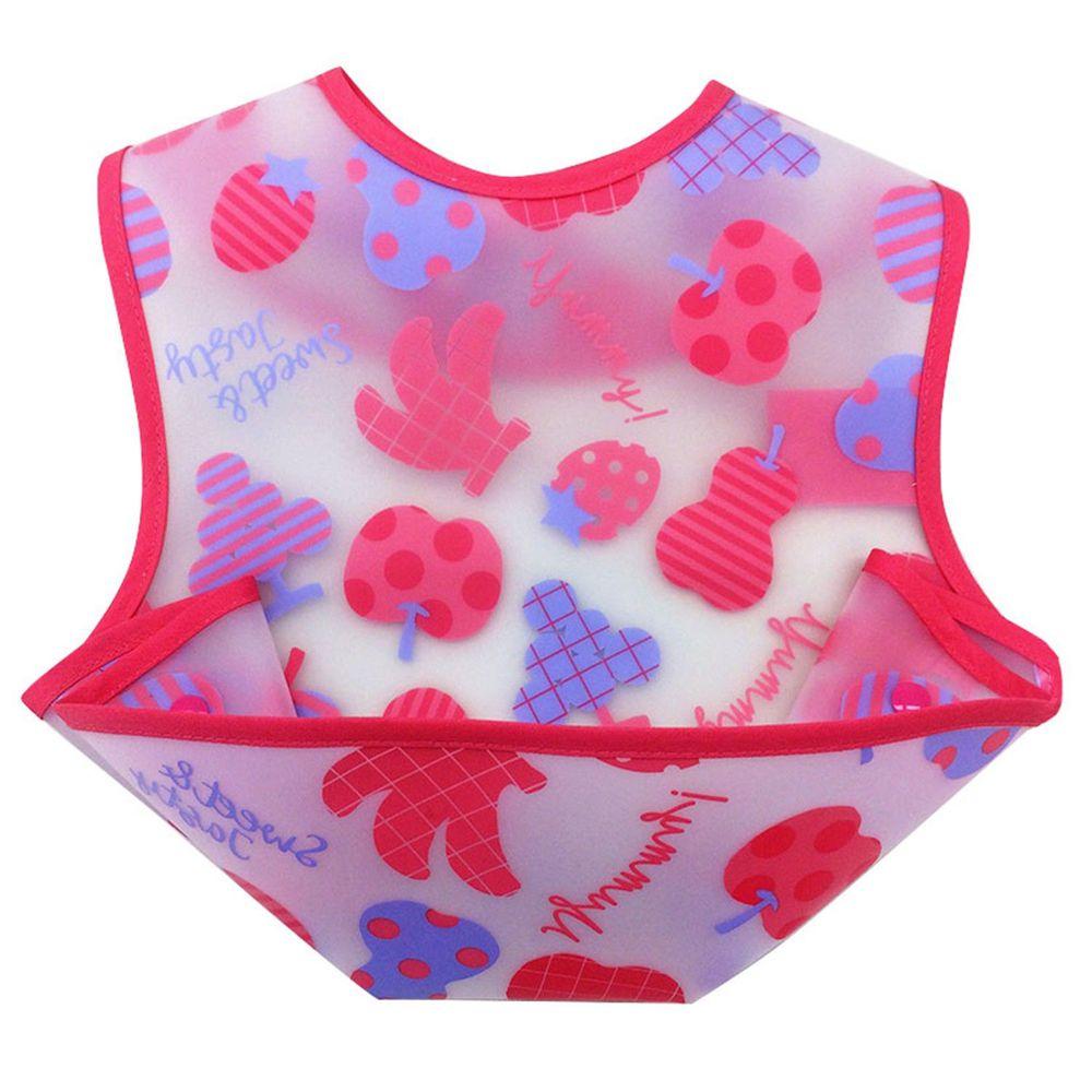 akachan honpo - 嬰幼兒立體口袋圍兜-水果
