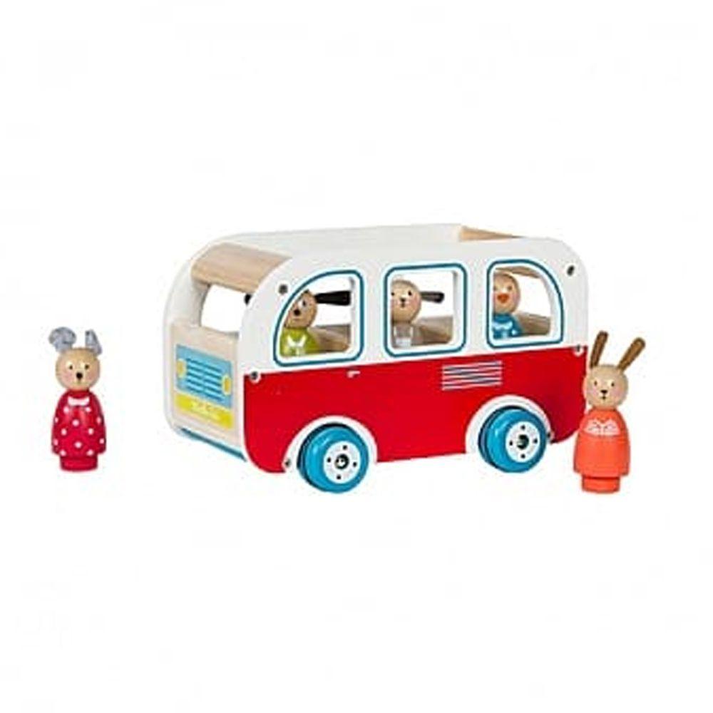 Moulin Roty - 木質小巴士