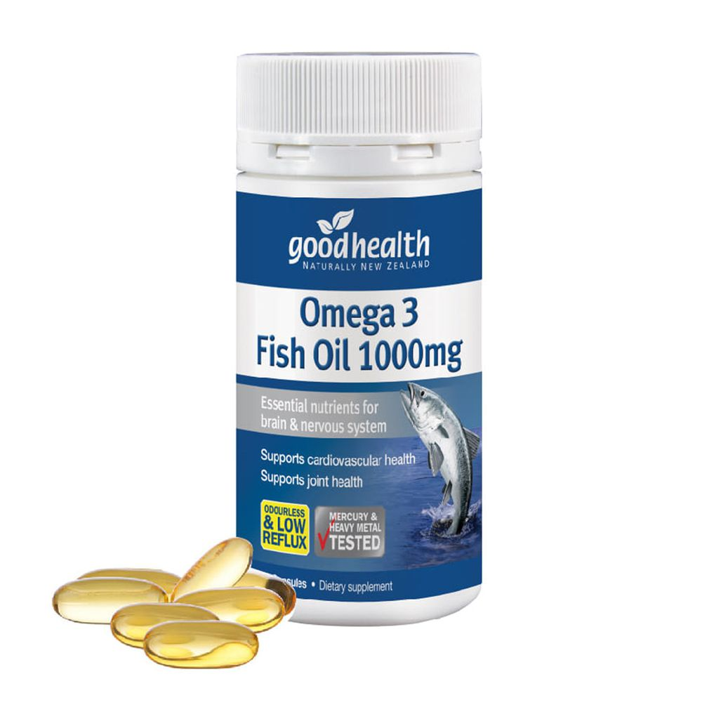 壽滿趣 - 紐西蘭goodhealth深海純淨DHA&EPA魚油膠囊1000毫克(70顆)