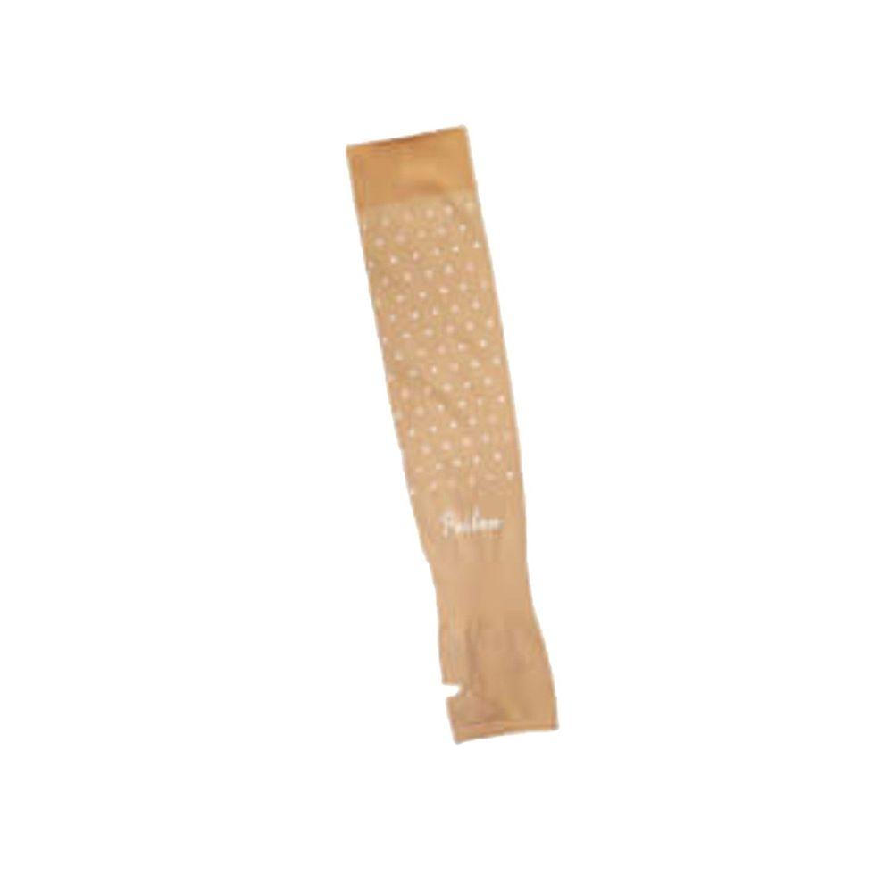貝柔 Peilou - 高效涼感防蚊抗UV袖套-點點款-膚色