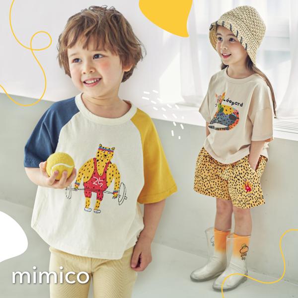 賣萌夏裝來啦!正韓MIMICO ❀ 童趣塗鴉×動物圖樣